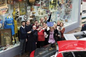 National Motor Museum team