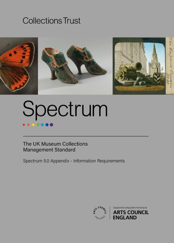 Cover of printed Spectrum Appendix