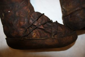 Boots used for fishing in the Artic