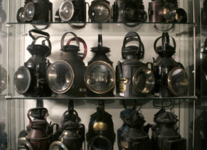 Handlamps at the National Railway Museum
