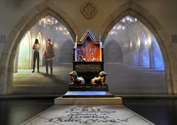 King Richard III Centre, Leicester, Throne Room