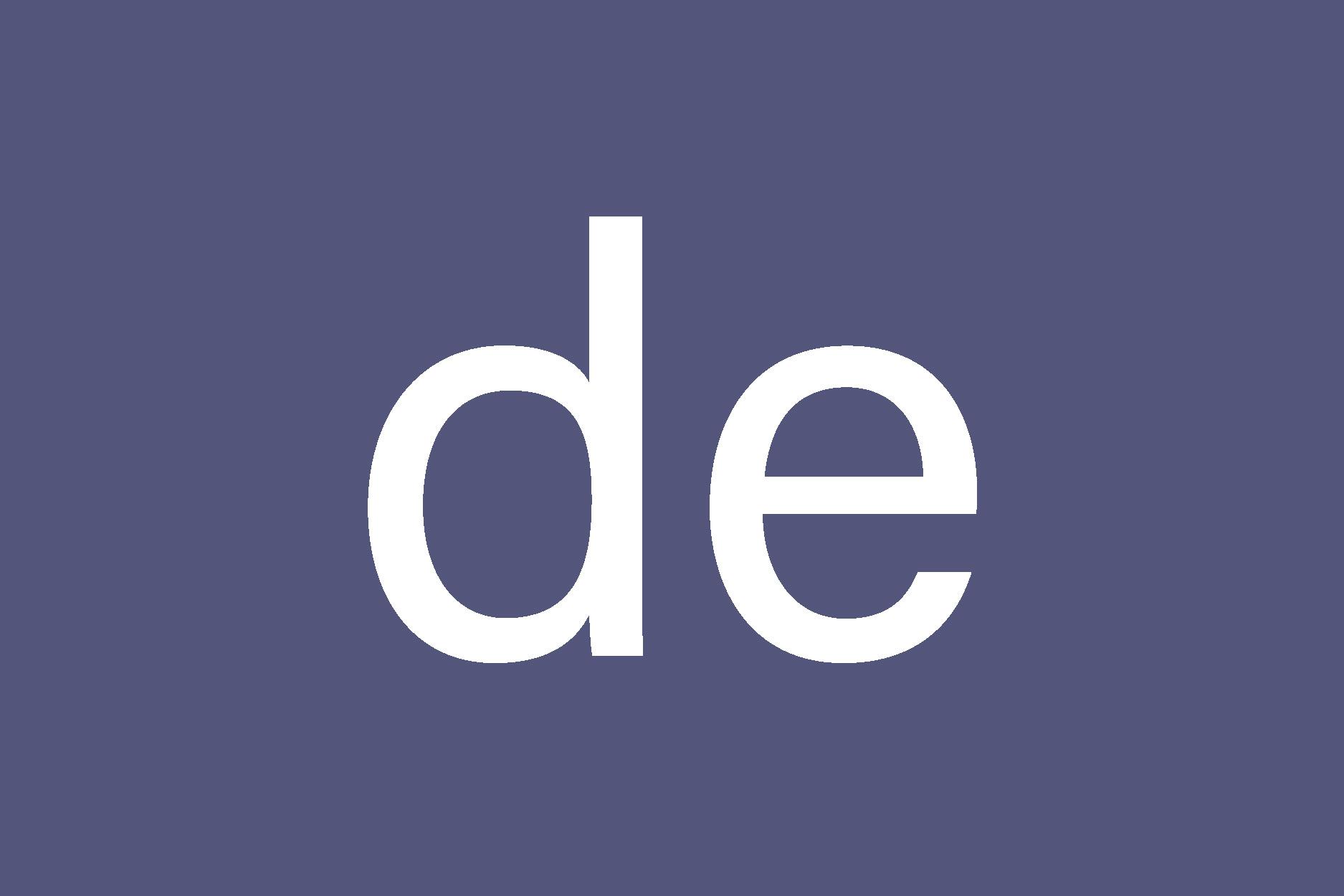 ISO 639-1 language code for German: DE