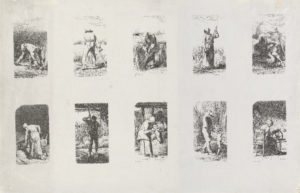 Les travaux des champs (Work in the fields), the engravings by Jean-François Millet that inspired Van Gogh's series of paintings