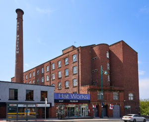 Exterior of Stockport Hat Works Museum
