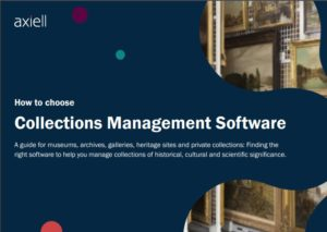 Axiell collections management software guide