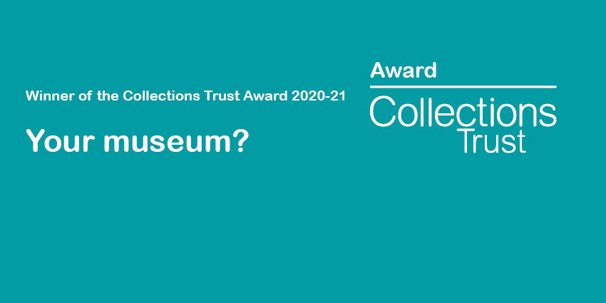 Representation of Collections Trust Award plaque
